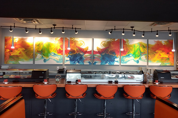 Project Spotlight – Custom Art For Soy Sushi Bar & Grill