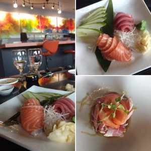 Sushi Restaurant with custom artwork